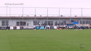 Grêmio enfrenta o Atlético Tucumán, pela Copa Libertadores, nessa terça-feira (18) - Jogo será disputado na Argentina e será primeira partida das quartas de final.