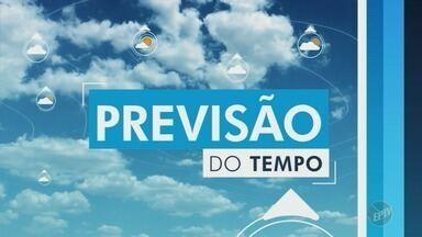 Veja a previsão do tempo para Campinas e região nesta terça-feira (18) - Em Campinas, as temperaturas variam entre 16°C e 26°C.