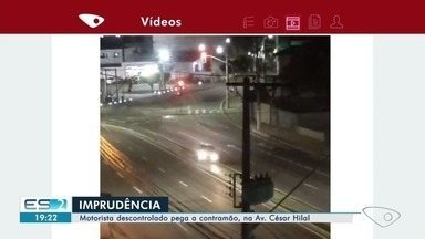 VC no ESTV: vídeo mostra motorista cometendo imprudências na Av Césa Hilal, em Vitória - Vídeo mostra motorista cometendo imprudências na Av Césa Hilal, em Vitória.
