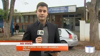 Mortes por febre amarela preocupam em Atibaia - Cidade é a segunda com mais casos no estado de São Paulo.