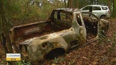 Homem rastreia carro roubado e encontra desmanche em Ribeirão Preto - Carcaças de veículos foram localizadas próximas ao Rio Pardo.