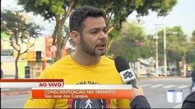 São José realiza ações para conscientizar sobre o trânsito seguro - Foco será em ações educativas aos motoristas.