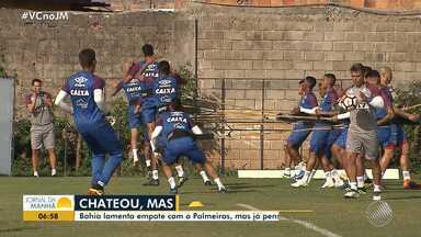 Bahia se prepara para enfrentar o Botafogo na quinta-feira (20) - Veja os destaques do tricolor baiano.