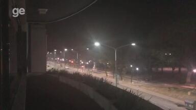 Hotel do Grêmio na Argentina é alvo de foguetório durante a madrugada - Assista ao vídeo.