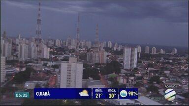 Mais chuva para Cuiabá nessa terça - Mais chuva para Cuiabá nessa terça