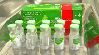 Ministério da Saúde vacina contra HPV, mas procura ainda é baixa - Este é o caso da cidade de Suzano. A campanha começou no dia 4 de setembro e a procura pela vacina ainda está abaixo do esperado.