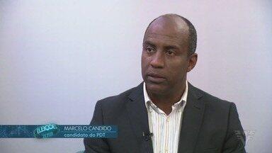 Marcelo Cândido, candidato a governador de São Paulo, fala sobre suas propostas - Candidato pelo partido PDT conversou com o repórter Jean Raupp.