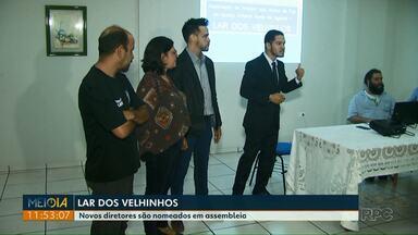 Novos diretores são nomeados em assembleia no Lar dos Velhinhos - Uma liminar da justiça determinou o afastamento provisório dos antigos diretores da entidade.