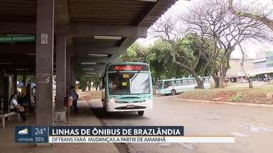 DFtrans anuncia mudanças nas linhas de ônibus de Brazlândia - Depois de ouvir reclamações de moradores, a alteração será a partir desta sexta-feira.