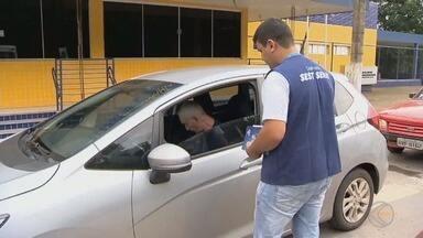 Ações de conscientização marcam Semana Nacional do Trânsito em Barbacena e Juiz de Fora - Polícia Rodoviária Federal realiza ação na BR-040 nesta quinta (20).