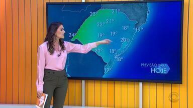 Tempo: quinta-feira (20) tem instabilidade e pancadas de chuva em cidades do RS - As temperaturas chegam aos 24ºC em algumas regiões.