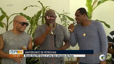 Banda Axé 90 Graus se apresenta na véspera do aniversário de Petrolina - O grupo vai canta em um trio elétrico.