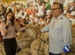 Corda utilizada na Trasladação e Círio 2018 chega a Belém - São 800 metros de corda