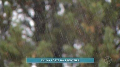 Dourados tem temporal com ventos de até 56 quilômetros por hora - Vários municípios do sul de MS registram temporais entre quarta e quinta-feira.