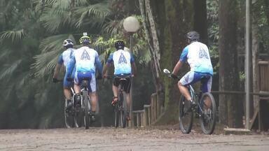 Grupo de ciclistas de Timóteo percorrerá 300 km para chegar até São Paulo - Serão seis dias de pedaladas e o intuito é a busca em superar limites.