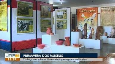 Primavera dos Museus tem pintura indígena, arqueologia e museu vivo em Macapá, no AP - Exposição chama a atenção para a importância dos principais monumentos históricos, dentro do espaço da evolução do Estado desde o território