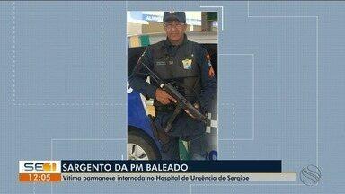Policial Militar é baleado durante tentativa de assalto na BR-101 - Segundo informações da PM, o estado de saúde dele é estável.