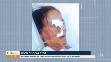 Lavradora sofre a espera de uma cirurgia que custa mais de 8 mil reais em Feira de Santana - Ele está recorrendo através do Ministério Público para conseguir fazer o procedimento.
