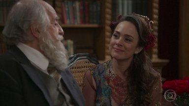 O Barão se rende a Julieta - Eles têm uma conversa franca e trocam elogios e admirações