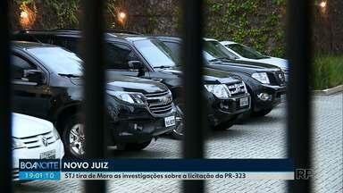 STJ define novo juiz para assumir investigações sobre licitação da PR-323 - O caso estava nas mãos do juiz Sérgio Moro.