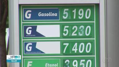 Litro da gasolina chega a R$ 5,19 em postos de Palmas - Litro da gasolina chega a R$ 5,19 em postos de Palmas