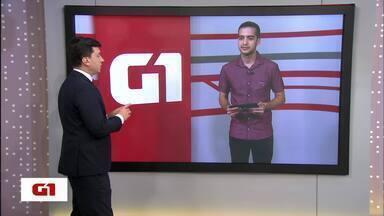 G1 no BDDF: brasileiro desperdiça 40 kg de comida por ano - Entrevista do G1 é com candidato Renan Rosa (PCO).
