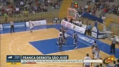 Franca Basquete vence o São José pelo Campeonato Paulista - Partida aconteceu nesta quinta-feira (20) no ginásio Pedrocão.