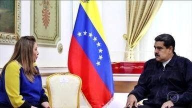 Governo de Roraima fecha acordo com presidente da Venezuela - Objetivo é levar de volta os venezuelanos que estão no Brasil.