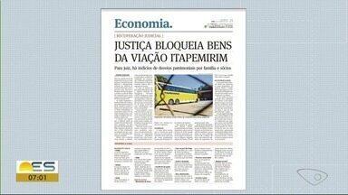 Justiça bloqueia bens da Viação Itapemirim e proíbe venda de linhas para outras empresas - Segundo o juiz os bens devem seguir bloqueados até que seja concluído o processo de recuperação judicial.