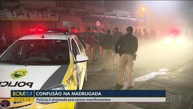 Eleição de sindicato termina em confusão - A polícia foi acionada durante a eleição do Sindimoc.