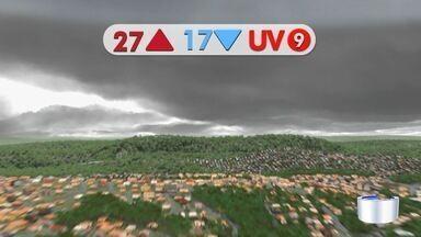 Confira previsão do tempo para sexta-feira - Dia deve ter tempo instável em toda região.