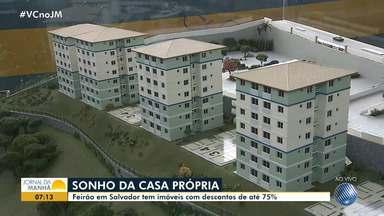 Feirão de imóveis oferece oportunidades com descontos de até 75% - Veja as novidades e saiba como visitar o feirão que acontece em Salvador.