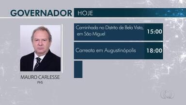 Confira a agenda dos candidatos ao governo do Tocantins nesta sexta-feira (21) - Confira a agenda dos candidatos ao governo do Tocantins nesta sexta-feira (21)