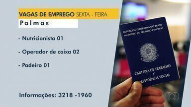 Confira as vagas de emprego disponíveis em Palmas, Paraíso e Porto Naiconal - Confira as vagas de emprego disponíveis em Palmas, Paraíso e Porto Naiconal
