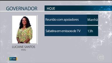 Confira a agenda dos candidatos ao governo do Piauí para sexta (21) - Confira a agenda dos candidatos ao governo do Piauí para sexta (21)