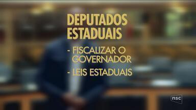 Confira o quadro 'Bê-A-Bá eleições' desta quarta (19); veja a função do deputado estadual - Confira o quadro 'Bê-A-Bá eleições' desta quarta (19); veja a função do deputado estadual
