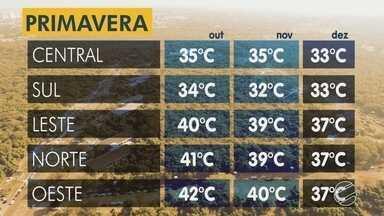 Confira como vai ficar o tempo nesta sexta-feira (21) e também a primavera - Meteorologista explica como vai ser o tempo durante a primavera.