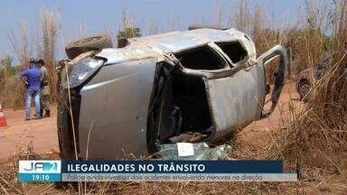 Investigações sobre acidentes envolvendo menores ainda não terminaram em Palmas - Investigações sobre acidentes envolvendo menores ainda não terminaram em Palmas