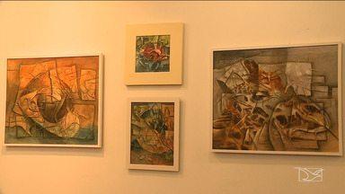 """Artista plástica Naza realiza exposição em São Luís - Mostra """"Guarás e a Natureza"""" pode ser vista até o próximo dia 31 de outubro, no São Luís Shopping, na capital."""