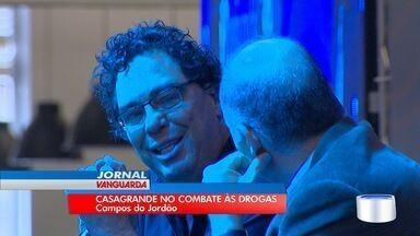 Ex-Jogador, Walter Casagrande faz palestra em Campos do Jordão sobre combate às drogas - Comentarista participou de evento na cidade.