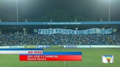 São José enfrenta o Comercial no Martins Pereira - O repórter Marcelo Hespaña tem as informações da partida.