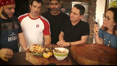 Chef JPB na Brasa: conheça os três finalistas - Você pode ajudar, votando no melhor churrasco.