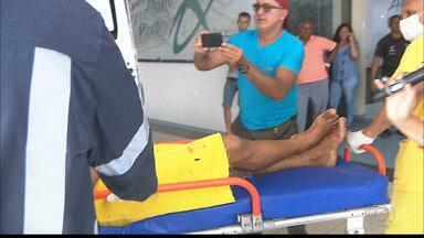 Criança de 10 anos esfaqueia padrasto em João Pessoa - Segundo informações, o menino estaria defendendo a mãe.