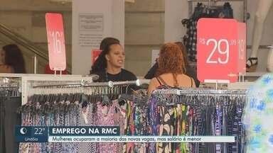 Pesquisa aponta que 64% dos empregos na região de Campinas são ocupados por mulheres - Dados levantados pela PUC mostram, também, que no mês de agosto, o salário pago para as mulheres foi 80% do valor remunerado a homens.