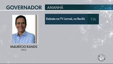 Confira as agendas do candidatos ao governo de Pernambuco - Votação vai acontecer no dia 7 de outubro.