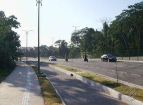 Novo trecho da av. João Paulo II é inaugurado sem sinalização e passarela para pedestres - De acordo com o NGTM, ainda não há prazo para que as mudanças sejam realizadas.