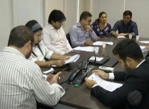 Reunião na TV Liberal define debate entre candidatos ao governo do Pará - Participaram representantes dos quatro partidos com representação do Congresso Nacional.