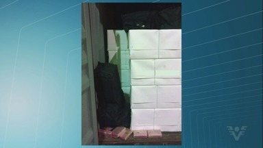 Quase meia tonelada de cocaína é apreendida no Porto de Santos - Droga tinha como destino a Alemanha.