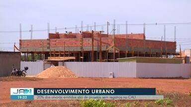 Alvarás emitidos sem registro no CAU preocupam arquitetos em Palmas - Alvarás emitidos sem registro no CAU preocupam arquitetos em Palmas