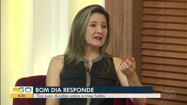 Especialista tira dúvidas sobre prevenção e tratamento de mau hálito, no BDG Responde - Karyne Magalhães responde às perguntas enviadas pelos telespectadores.